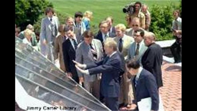 White House getting those promised solar panels