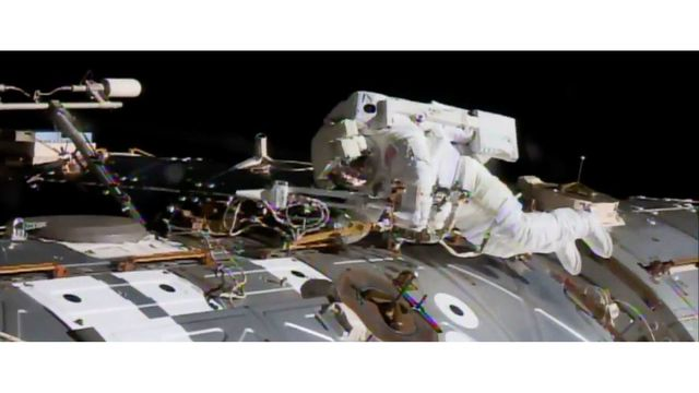 For NASA Astronauts, Tuesday's Emergency Spacewalk is Fraught With Danger class=