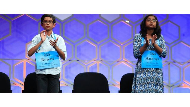 National Spelling Bee a fiercer competition than NBA Finals Game 1