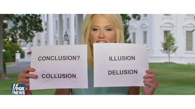Kellyanne Conway sparks torrent of memes with latest interview gaffe