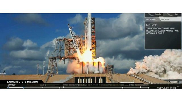 SpaceX to launch top-secret military vehicle