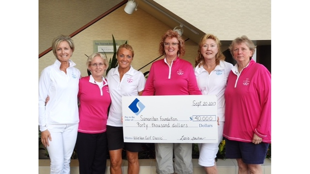 WALKER CENTER FOR CANCER CARE RECEIVES SUPPORT FROM  2017 ELLIE VANEENENAAM GOLF CLASSIC