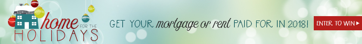 Get your morgage or rent paid for in 2018!