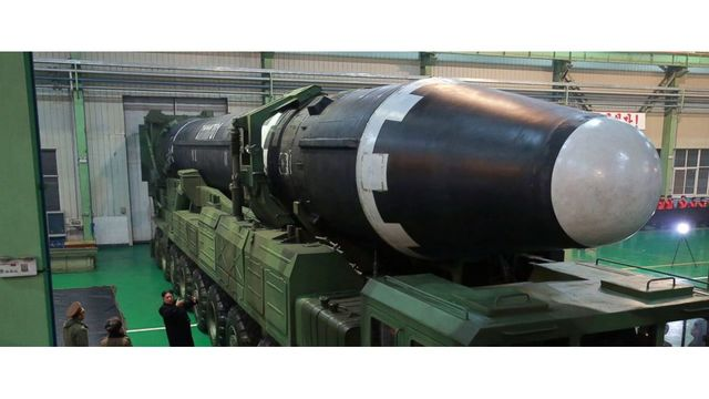What North Korean photos say about new ballistic missile