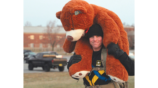 Muleskinners make a difference during toy ruck