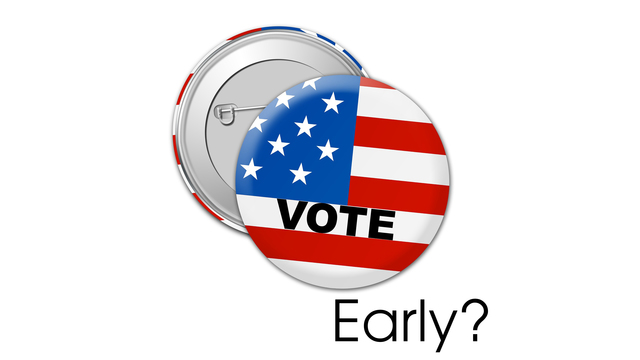 Early voting in New York?